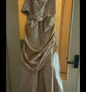 Вечернее платье (юбка + корсет) 42-44