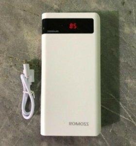 Внешний новый аккумулятор Romoss Sense 6P 20000mAh