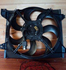 Вентилятор охлаждения KIA RIO