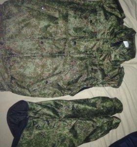 Куртка-жилетка камуфляж (цифра)