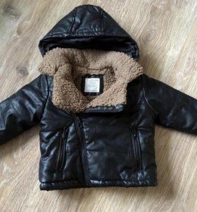Куртка Zara 9-12 мес.