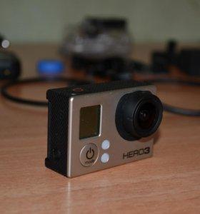 GoPro Hero 3 Black Edition с аксессуарами