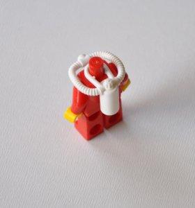 Белый Акваланг из Лего