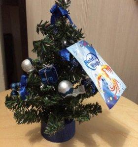 Декоративные новогодние елочки