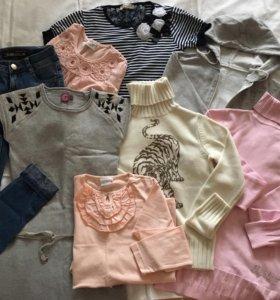 Пакет одежды на девочку рост152