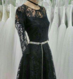 Гипюровое платье 44 р