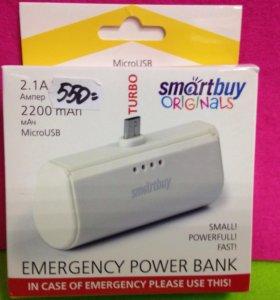 Power Bank 2200mah 2.1A micro USB