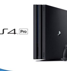 PS 4 Pro 2Tb + 50 игр