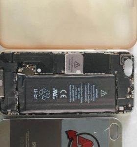 Чехлы на iPhone 6s,+чехол 5s в подарок