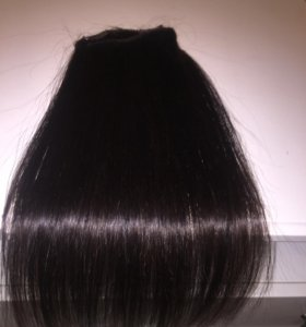 Натуральные волосы на заколках(трессы)