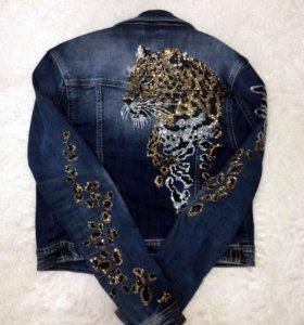 Стильная джинсовая куртка. Ⓜ️Тёплый стан