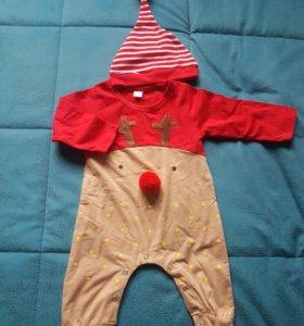 Новогодний костюмчик для малыша