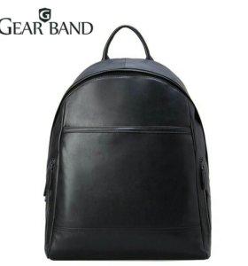 Мужской кожаный рюкзак (новый)