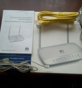 HUAWEI MEDIA ROUTER. MODEL:HG532