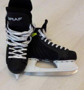 Коньки GRAF хоккейные подростковые