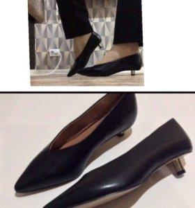 """Женские туфли,""""H&M"""" имитация кожи,35"""