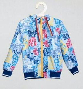 Куртка ветровка, р.116, новая