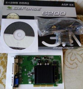 Nvidia GeForce 6200 512Mb