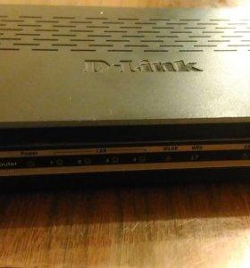 WiFi роутер D-Link DSL-2640U