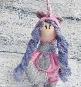 Интерьерная кукла,кукла ручной работы