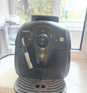 Кофе машина зерно Philips Saeco