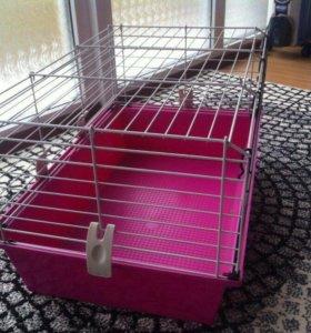 Новая клетка для грызунов,кроликов+акссесуары