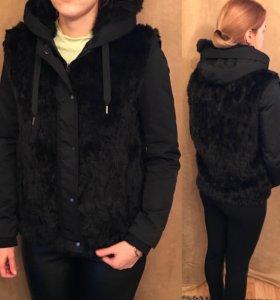 Куртка меховая Zara 44(M)