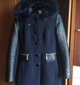Осеннее пальто(утеплённое)
