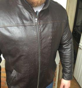 Куртка кожаная новая Exclusive!