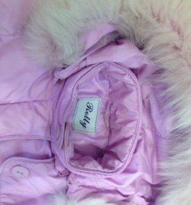 Курточка для девочки .