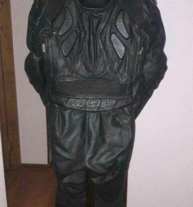 Мото куртка и мото штаны кожа
