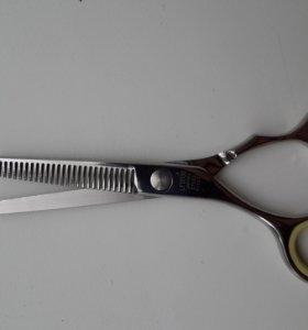 Ножницы филировочные mizuka cobalt lf5530 новые