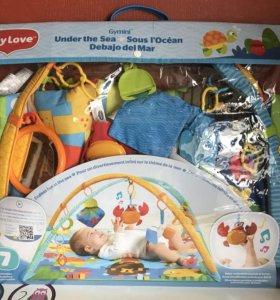 Развивающий коврик Tiny Love «Морские приключения»