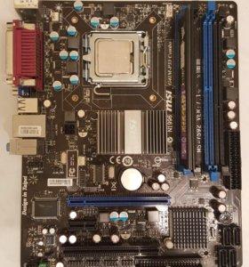 MSI GA41M-P33 Combo + Intel® Celeron® D 340