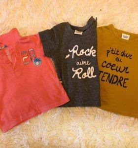 Три фирменные футболки.Качество хорошее.