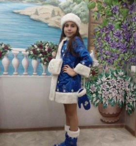 Костюм новогодний Снегурочка
