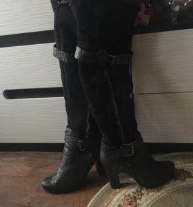 Обувь,сапоги,ботфорты