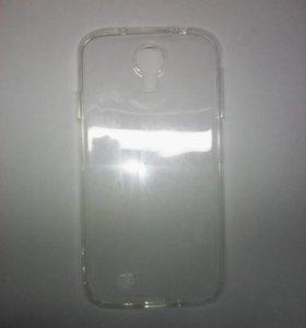 Чехол-силикон 0.3mm Samsung i9500/s4 белый