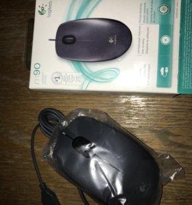 НОВАЯ Компьютерная мышь Logitech m90