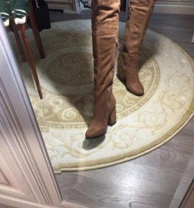 Обувь демисезон сапоги длинные