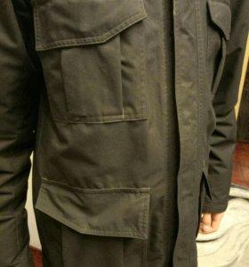 Куртка осенне-зимняя адидас