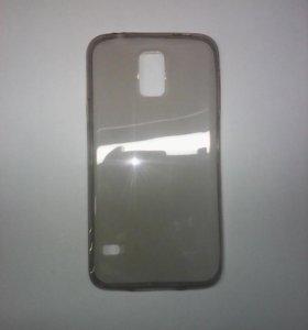 Чехол-силикон 0.3mm Samsung i9600/s5 черный