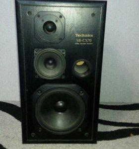 Колонки Technics SB- CS70 ;3Way Speaker...