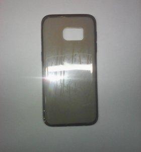 Чехол-силикон 0.3mm Samsung g930/s7 черный