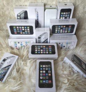 Новые iPhone 5s и другие оригинал магазин