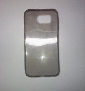 Чехол-силикон 0.3mm Samsung g920f/s6 черный