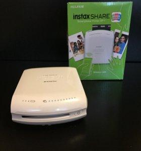 Фотопринтер Fujifilm INSTAX SHARE SP-1 (белый)