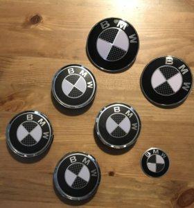 Комплект эмблем BMW