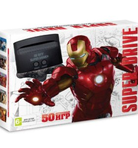 Игровая приставка Sega Iron Man 50 игр новая