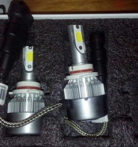 HB4 диодные лампы ближний свет
